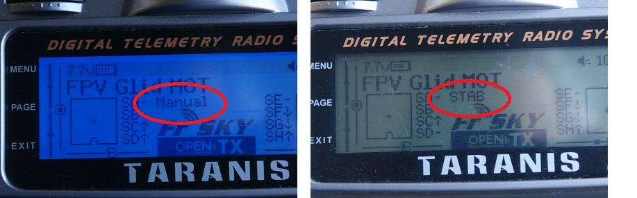 Taranis: AP modes on LCD | Pitlab & Zbig FPV System