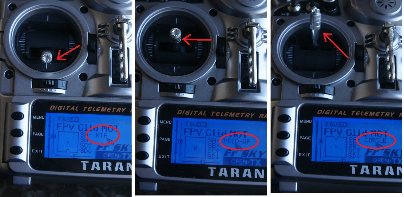 Taranis: AP modes on LCD   Pitlab & Zbig FPV System